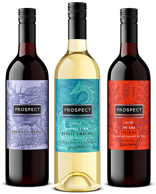 Prospect Winery 3 Bottle Wines Image